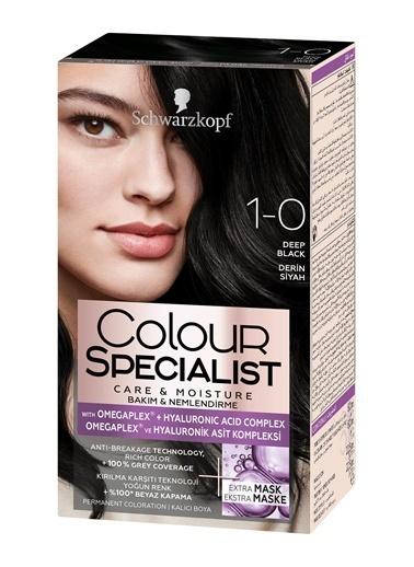 Colour Specialist Colour Specialist Derin  1.0 Saç Boyası Siyah